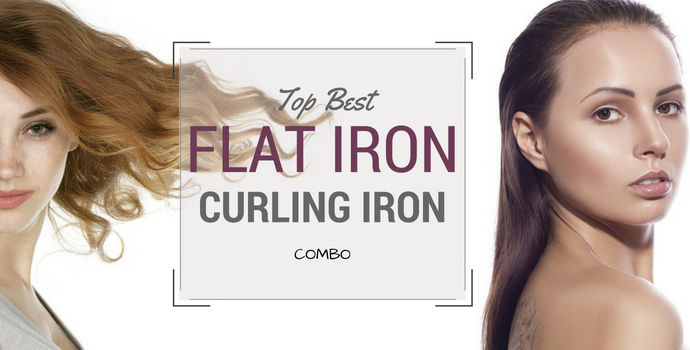 best flat iron curling iron combo reviews