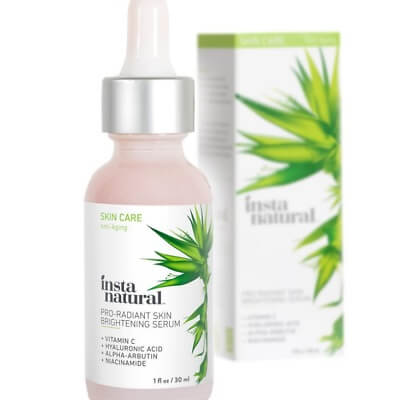 InstaNatural – Skin Brightening Serum with Vitamin C dark spot corrector