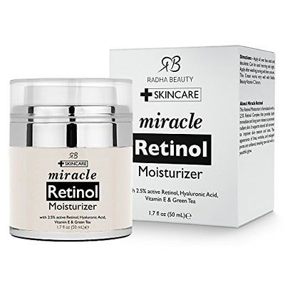 Retinol Moisturizer Cream for Face Dark Spot Corrector