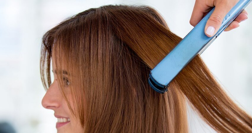 BaBylissPRO Nano Titanium-plated flat iron for thick hair