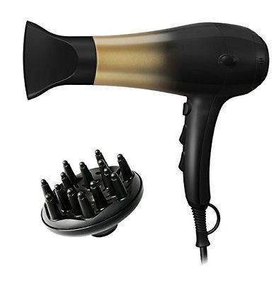 KIPOZI 1875W Hair Dryer, Nano Ionic Blow Dryer Professional Salon Hair Blow Dryer