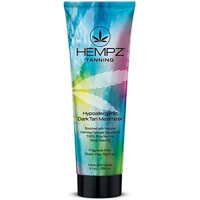 Hempz HYPOALLERGENIC DARK TAN Maximizer – 9 oz.