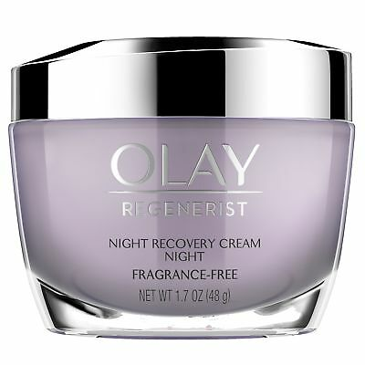 Night Cream by Olay, Regenerist Night Recovery Anti-Aging Face Moisturizer
