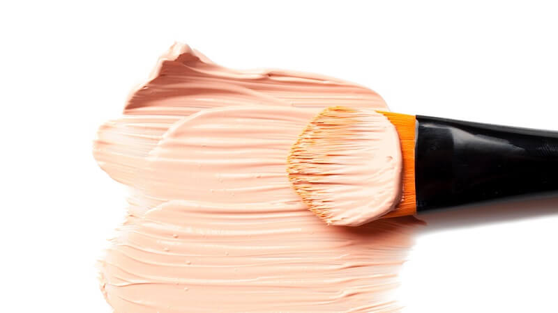 dirty makeup foundation brush