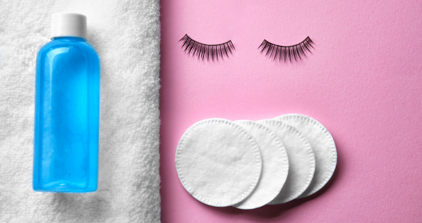 how to clean false eyelashes for reuse