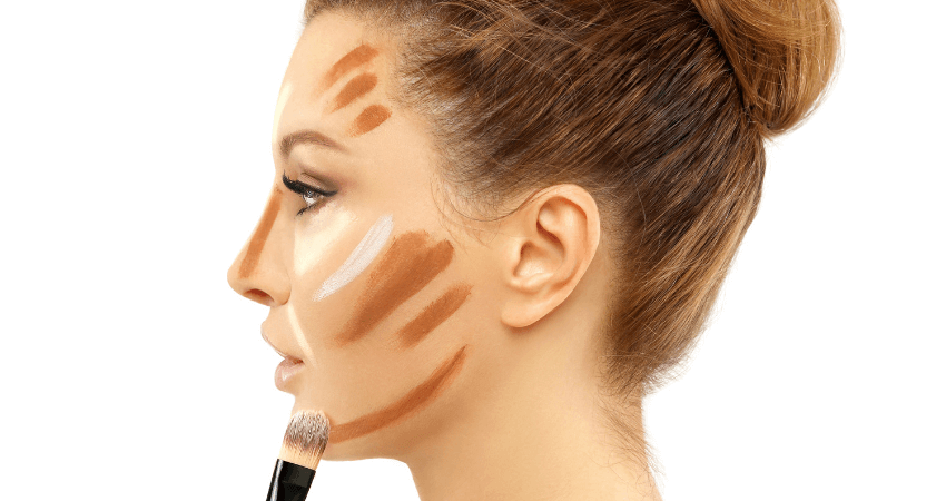 how to make your nose look smaller with makeup